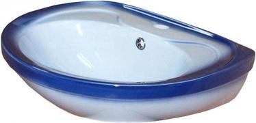 Rosa Lira Blue 550x470mm