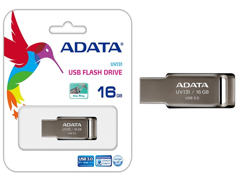 Adata 16GB UV131 USB 3.0 Chromium Grey