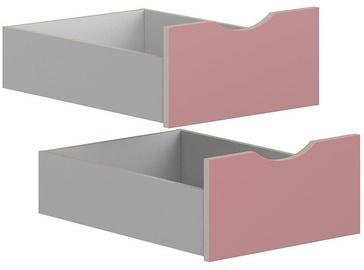 Коробка Black Red White Drawers for Stanford Cabinet Light Grey/Pink