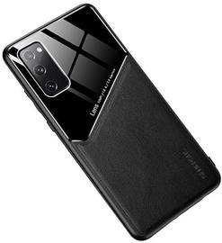 Чехол Mocco Lens Leather Back Case Apple Iphone 12 Pro Max, черный