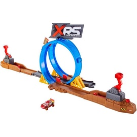 Mattel Disney Pixar Cars XRS Mud Smash & Crash Challenge Playset FYN85