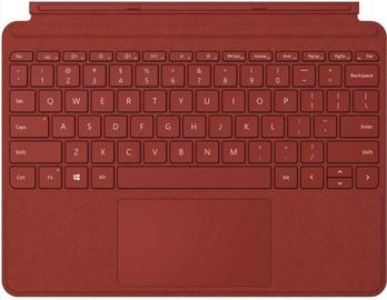 Клавиатура Microsoft TXK-00001 EN, коричневый/красный