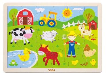 Viga Farm Puzzle 24pcs 50197