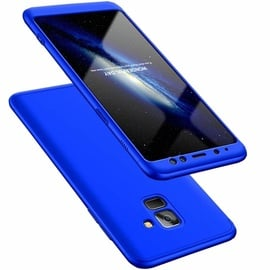 Hurtel 360 Protection Full Body Cover For Samsung Galaxy A8 A530 Blue