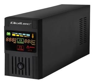Стабилизатор напряжения UPS Qoltec, 360 Вт (поврежденная упаковка)