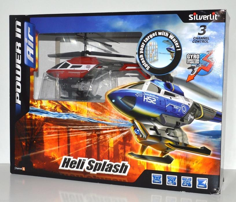 Silverlit RC Heli Splash Helicopter Assort 84656
