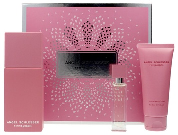 Angel Schlesser Femme Adorable 100ml EDT + 100ml Body Lotion + 15ml EDT