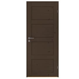 Uks täispuit Rustic 337 8x21dm pähkel