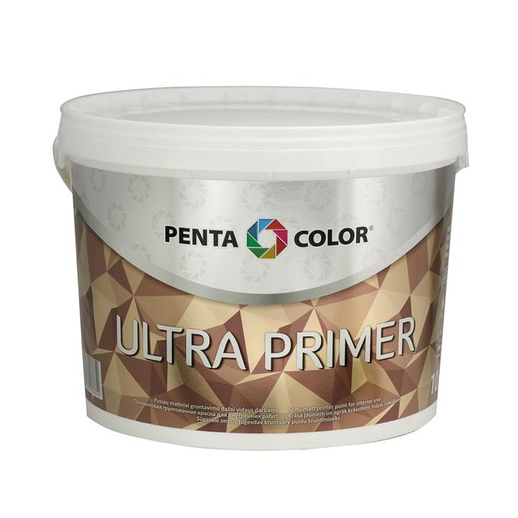 Grīda krāsa Pentacolor ultra primer balta 10l