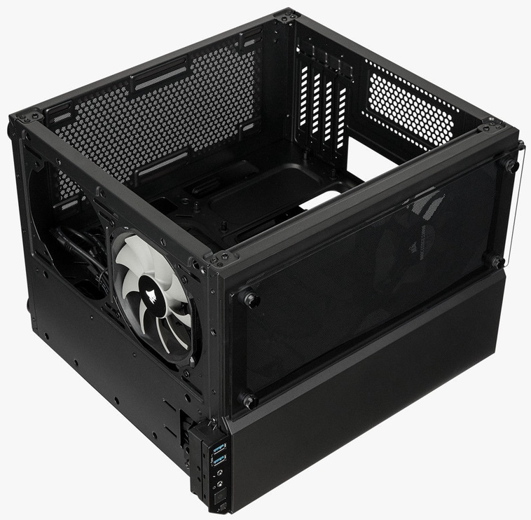 Corsair PC Case Crystal 280X Tempered Glass Black