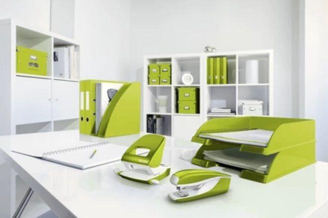 Leitz NeXXt Wow Office Stapler Green