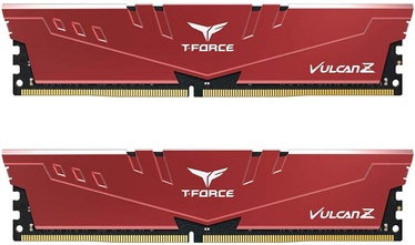 Operatīvā atmiņa (RAM) Team Group T-Force Vulcan Z Red TLZRD416G3600HC18JDC01 DDR4 16 GB