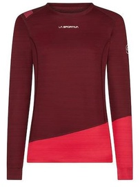 La Sportiva Woman Long Sleeve Top Dash Wine/Orchid S