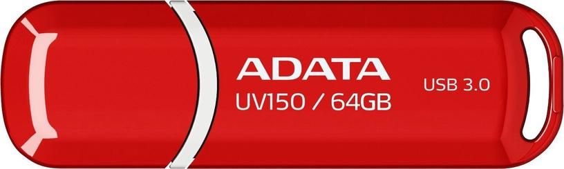Adata 64GB DashDrive UV150 USB 3.0 Red