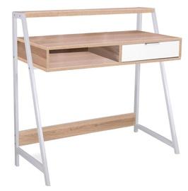 Signal Meble Writing Desk Biurko B171 Oak White