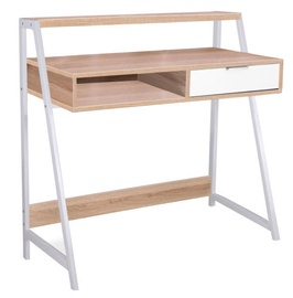 Signal Meble Writing Desk Biurko B171 Oak White