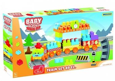 Wader Baby Block Train Set 89pcs