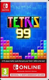 Tetris 99 + 12months Nintendo Switch Online Membership SWITCH