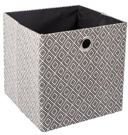 Home4you Yana Storage Box White/Black