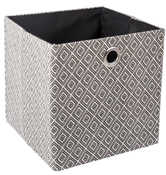 Home4you Yana Storage Box White/Black