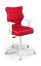 Детский стул Entelo Duo VS09, белый/красный, 370 мм x 1000 мм