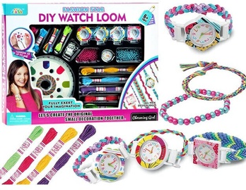 Rotaļlietu skaistumkopšanas komplekts Fashion Star Diy Watch Loom