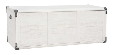 Black Red White Indiana Chest 120x47x49cm Canyon Pine