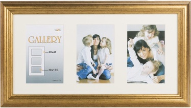 Victoria Collection Photo Frame Ema Gallery 20x40 3x 10x15 Gold