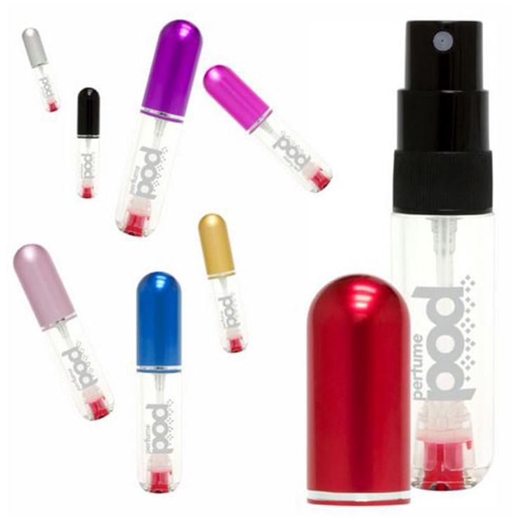 Travalo Perfume Pod Refillable Flacon 5ml Hot Pink