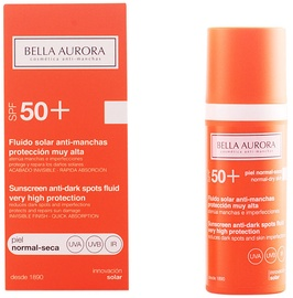 Bella Aurora Anti-Dark Spot Sunscreen SPF50 Normal-Dry Skin 50ml