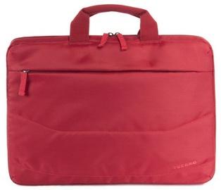 "Tucano Idea Slim Bag For Ultrabook 15"" & Notebook 15.6"" Red"