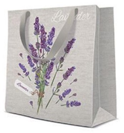 Paw Decor Collection Lavender For You Square Gift Bag 17x6x17cm