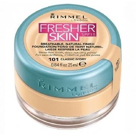 Rimmel London Fresher Skin Foundation SPF15 25ml 101