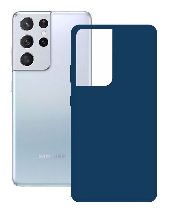 Ksix Cover for Samsung Galaxy S21 Ultra Blue