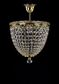 Lubinis šviestuvas Artglass Fatima II Polished CE, 3X40W, E14