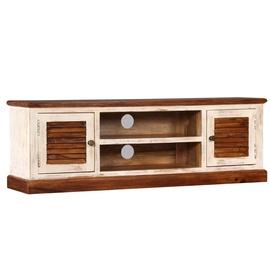 TV-laud VLX Solid Sheesham Mango Wood, pruun, 1200 mm x 300 mm x 400 mm