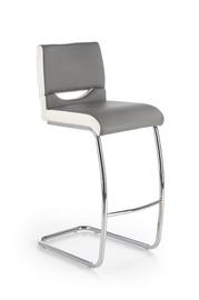 Baro kėdė H87, balta/pilka