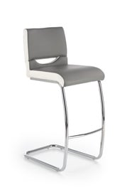 Halmar H-87 Bar Stool White/Grey