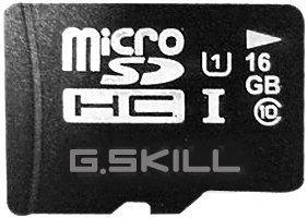 G.Skill Micro SDHC 16GB Class 10
