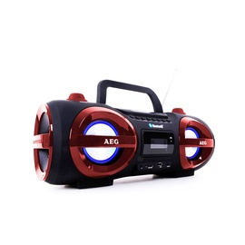 RAADIO  SR 4359 BT RED-BLACK