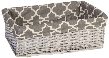 Home4you Basket Max 4 42x29xH14cm Antique Gray