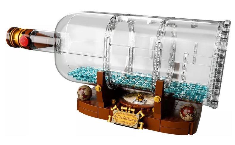 Конструктор LEGO Ideas Ship In A Bottle 21313, 962 шт.
