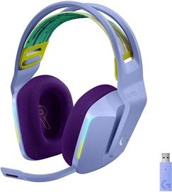 Ausinės Logitech G733 Over-Ear Gaming Lilac, belaidės