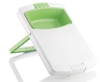 Pjaustymo lentelė InnovaGoods PractiCut, balta/žalia, 480x285 mm
