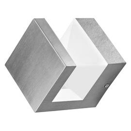 Lampa Ledvance Endura style pyramid, 1 gab., 9W, led, IP44, nerūsējoša tērauda