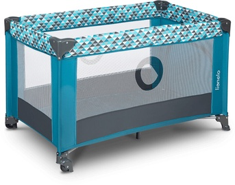 Детская кроватка Lionelo Stefi Green Turquoise