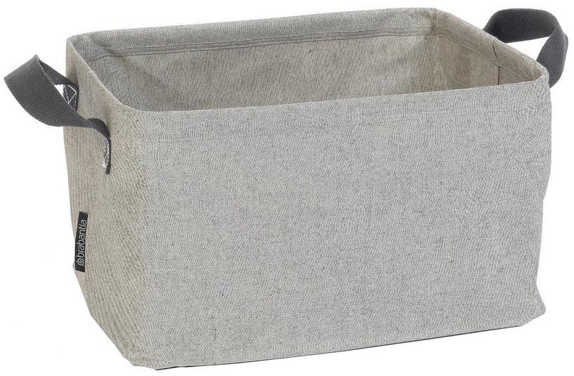Skalbinių krepšys Brabantia, sulankstomas, 35 l, Grey