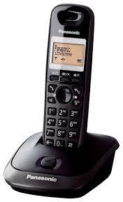 Belaidis telefonas Panasonic KX-TG2511FXT, juodas