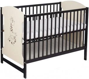 Minikid Miki Baby Bed 104 Venge/Cream Giraffe
