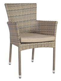 Home4you Larache 2 Garden Chair Grey